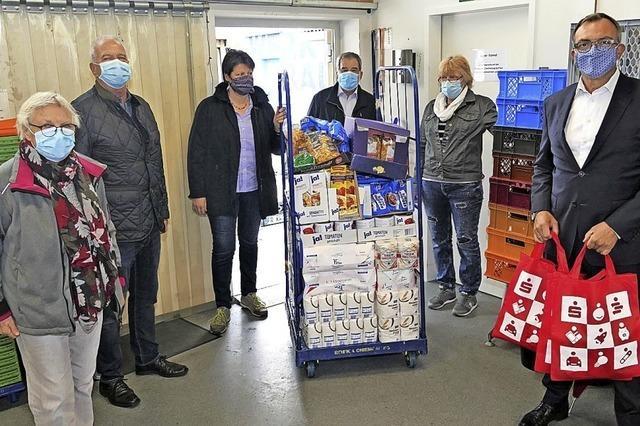 Tafel Markgräflerland arbeitet dank Spenden weiter