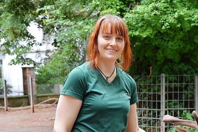 Cathleen Tzschoch ist Tierpflegerin im Traumberuf