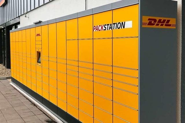 DHL eröffnet eine Packstation in Friedlingen