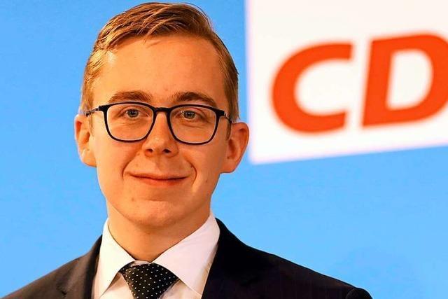 Kritik an CDU-Jungstar Philipp Amthor nimmt zu