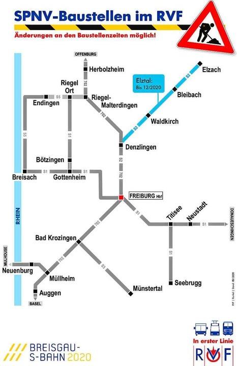 Bis auf die Elztalbahn ist das Breisgau-S-Bahn-Konzept nun komplett.  | Foto: RVF
