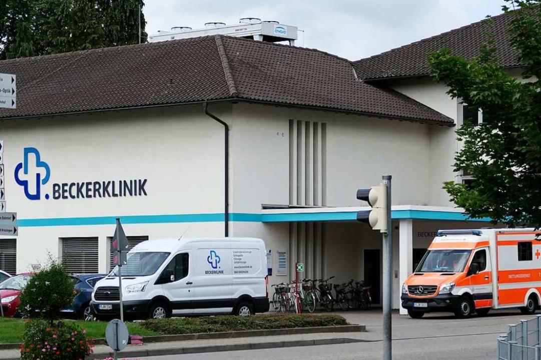Beschäftigt die Leser: Das Schicksal d...sorgung der Bad Krozinger Beckerklinik    Foto: Hans-Peter Müller