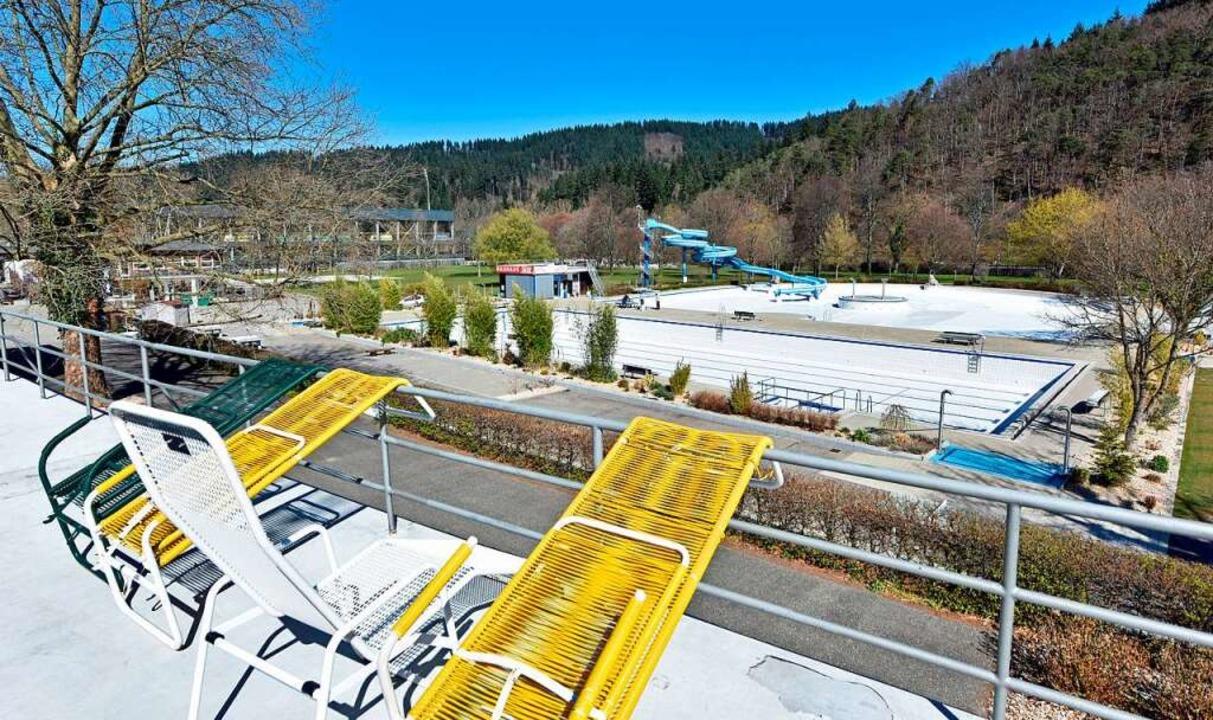 Der Freiburger Schwimmverein übt in ei...en, ist weiterhin unklar (Archivbild).    Foto: Michael Bamberger