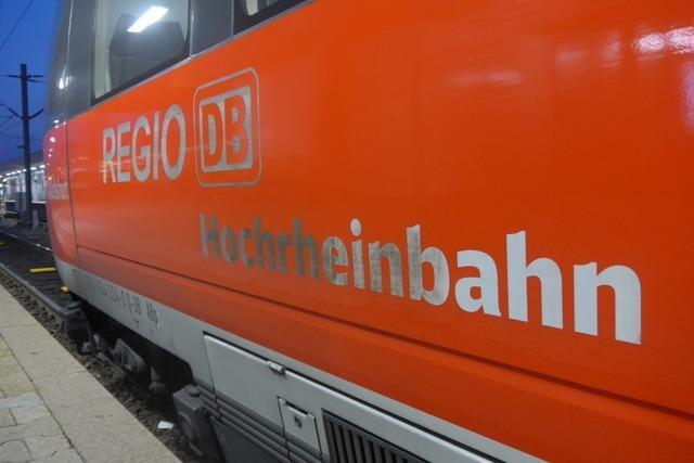 Bis 2027 soll die Hochrheinbahn ausgebaut und elektrifiziert sein