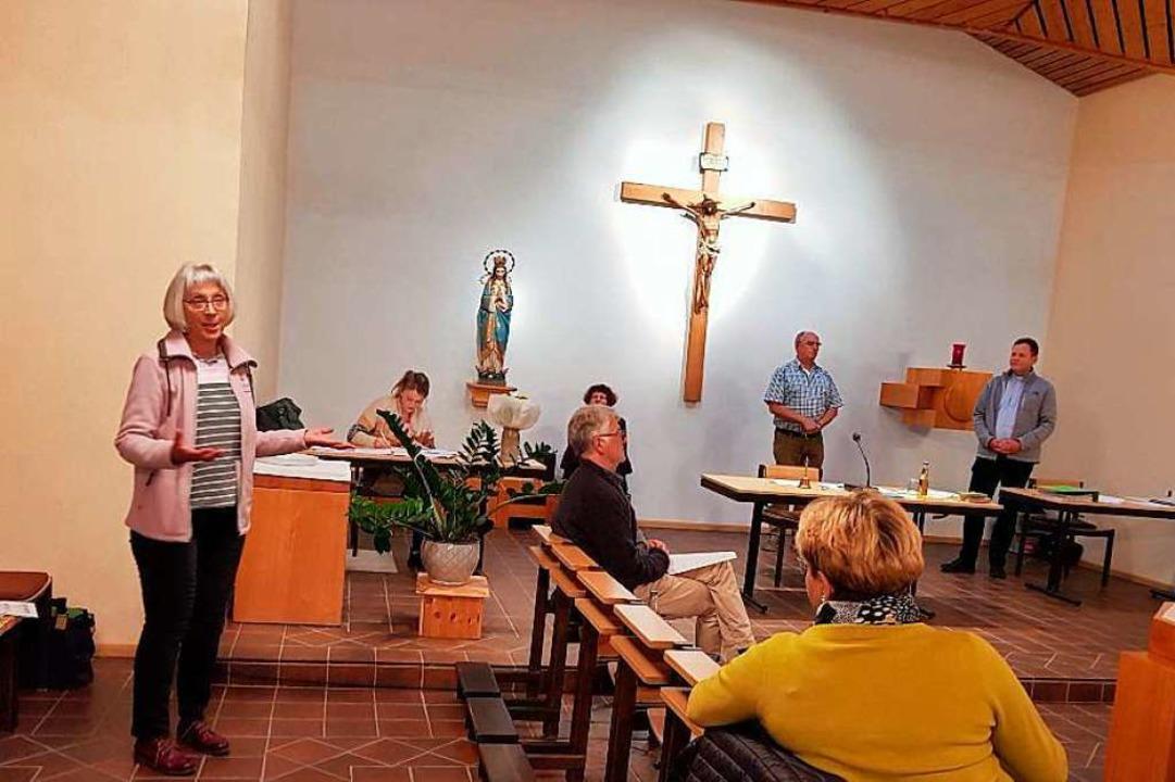 Die konstituierende Sitzung, bei der M...rche St. Jakobus in Eichstetten statt.  | Foto: Karlheinz Kläger