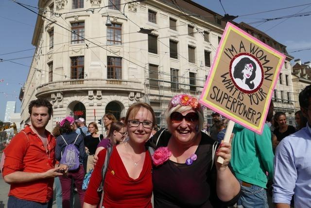 Auch in diesem Jahr streiken Basler Frauen