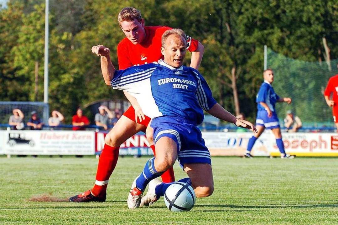 Als Spielertrainer schaffte Adolf &#82...Rust den Aufstieg in die Verbandsliga.  | Foto: Wolfgang Künstle