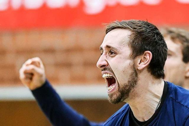 Volleyballer Tobias Nolte von der FT 1844 Freiburg sehnt sich nach der nächsten Saison
