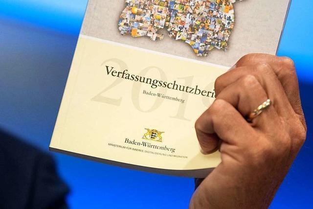 Die wichtigsten Erkenntnisse aus dem Jahresbericht des Verfassungsschutzes