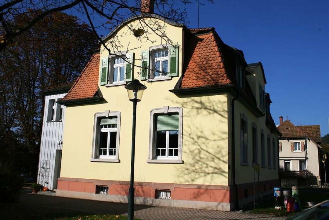 Das Kultur- und Jugendhaus Dorfstübli ...gen im Sommer wieder in Betrieb gehen.    Foto: Ralph Lacher