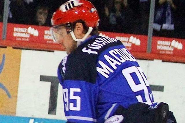 Jamie MacQueen wurde davongejagt, jetzt soll er wieder für die Wild Wings spielen