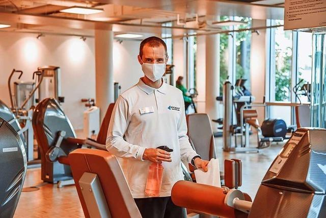 Die Fitnesscenter sind endlich wieder geöffnet – das ausgefeilte Hygiene-Konzept gibt Mitgliedern und Mitarbeitern Sicherheit