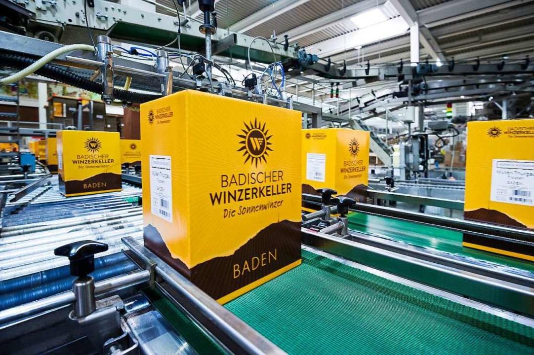 Auch in den vergangenen drei Monaten v... Badischen Winzerkellers  in Breisach.  | Foto: Daniel Schoenen