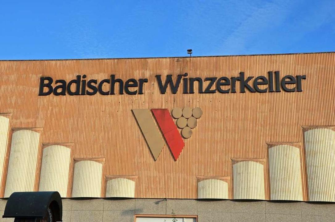 Der Badische Winzerkeller ist immer noch die größte Kellerei Badens.  | Foto: Gerold Zink