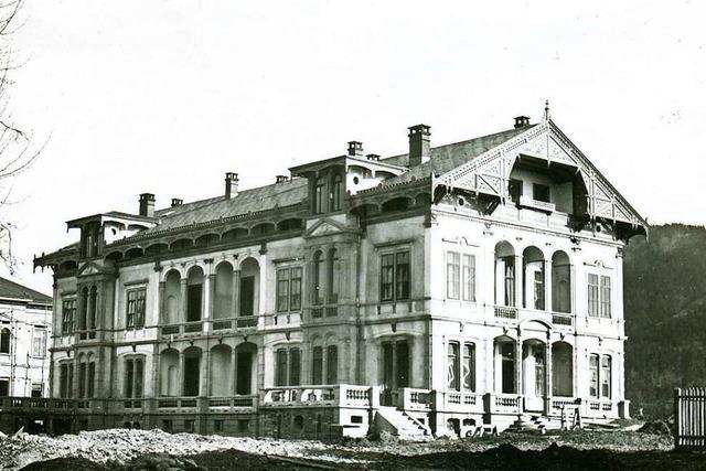 Haus aus dem 19. Jahrhundert zeigt, wie Investoren die Wiehre veränderten
