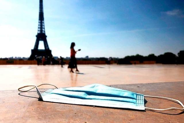 Paris kämpft gegen die Vermüllung durch weggeworfene Masken