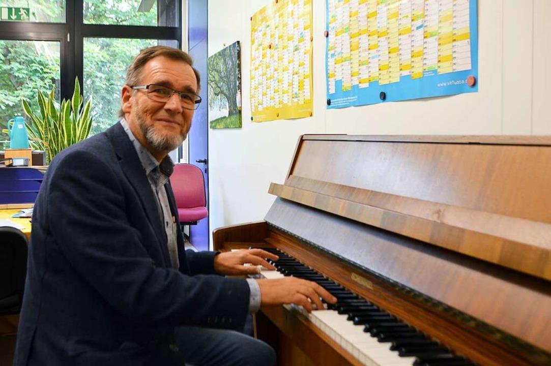 Max Joos ist Leiter der Musikschule Dreisamtal.    Foto: Horatio Gollin