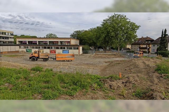 Spezialtiefbau für neue Grundschule