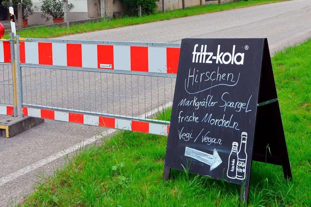 Die Straßensperrungen haben den Wirtsleuten zu schaffen gemacht.  | Foto: Victoria Langelott