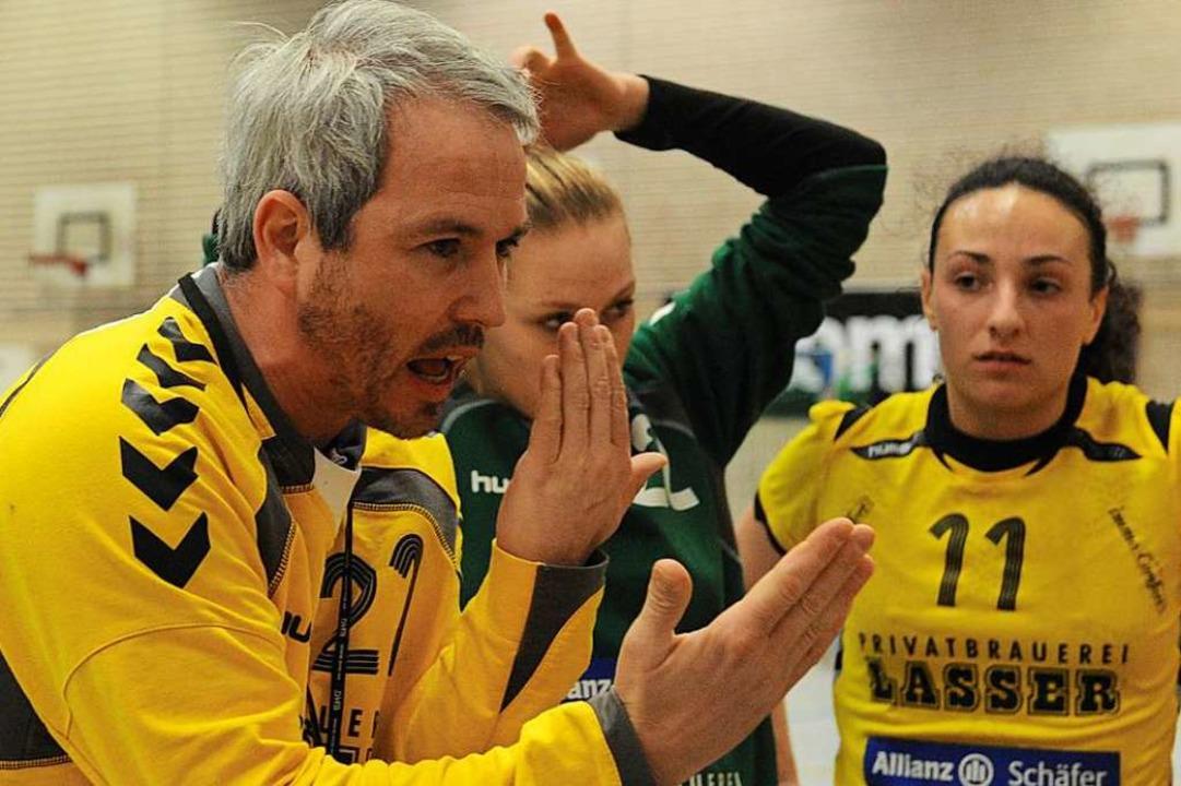 Immer mit Verve dabei: Michael Matschenz, 2012 als Grenzacher Coach   | Foto: Patrick Seeger