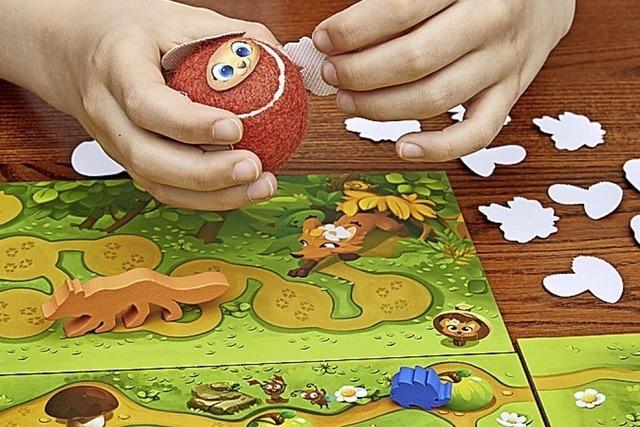 Igel-Spiel mit Klettverschluss