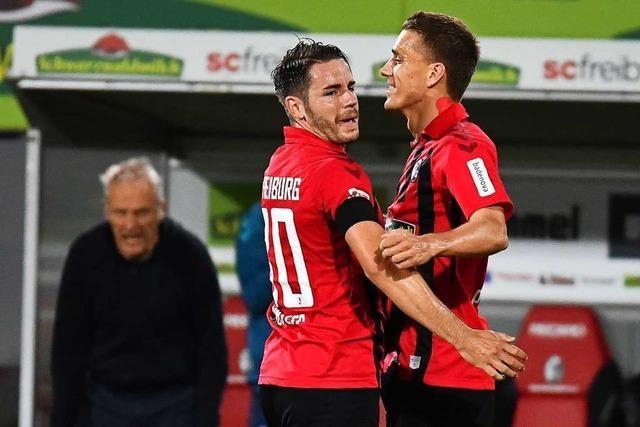 Nils Petersens Instinkt sorgt gegen die Hertha für den Unterschied