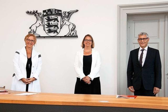 Birgitta Stückrath ist die neue Direktorin des Müllheimer Amtsgerichts