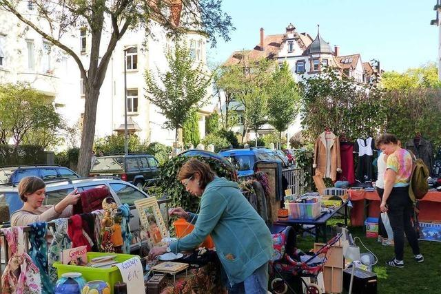 Nachbarschafts-Flohmarkt in der Freiburger Wiehre soll im Juli stattfinden