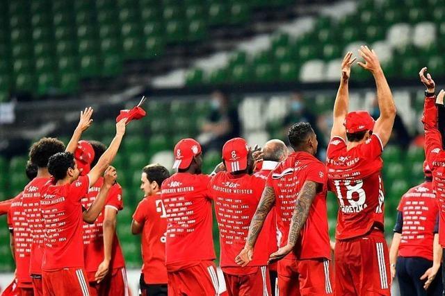 Bei Bayern München lässt die Gier nach Titeln nicht nach