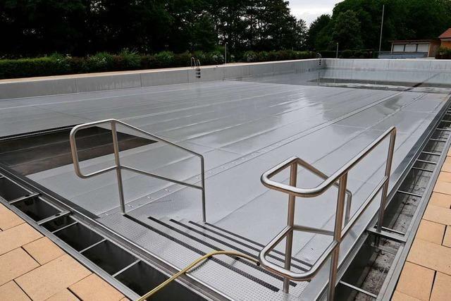 Staufener Alemannenbad öffnet spätestens am 27. Juni