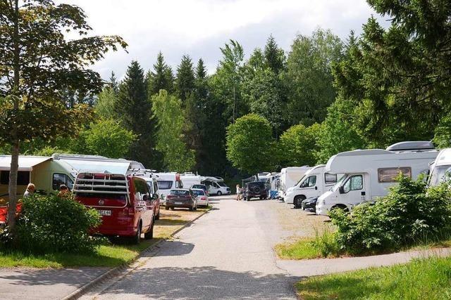 Großer Andrang auf dem Campingplatz Wolfsgrund am Schluchsee