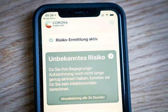 Gesundheitsamt ist zurückhaltend bei der Bewertung der Corona-Warn-App