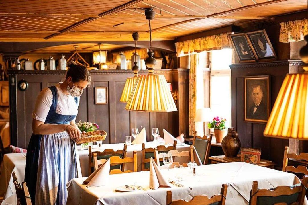 Vielen Gastronomen in der Region haben...ohe Verluste zu beklagen (Symbolbild).  | Foto: Philipp von Ditfurth (dpa)