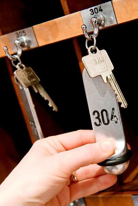Hotels dürfen wieder Gäste empfangen, aber die halten sich noch zurück.    Foto: Sven Hoppe