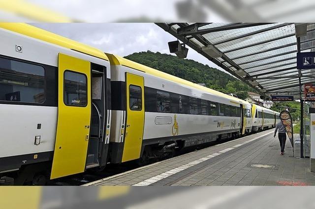 Alle Bahnsteige sollen barrierefrei werden