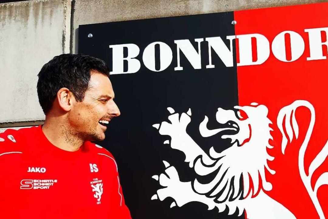 Löwenbändiger: TuS-Trainer Björn Schlageter  | Foto: Johannes Bachmann