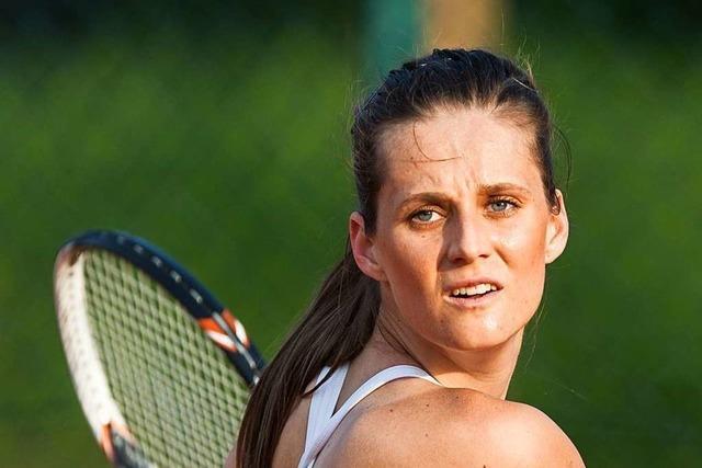 Veronika Zatekova möchte einmal noch Roger Federer in Wimbledon spielen sehen
