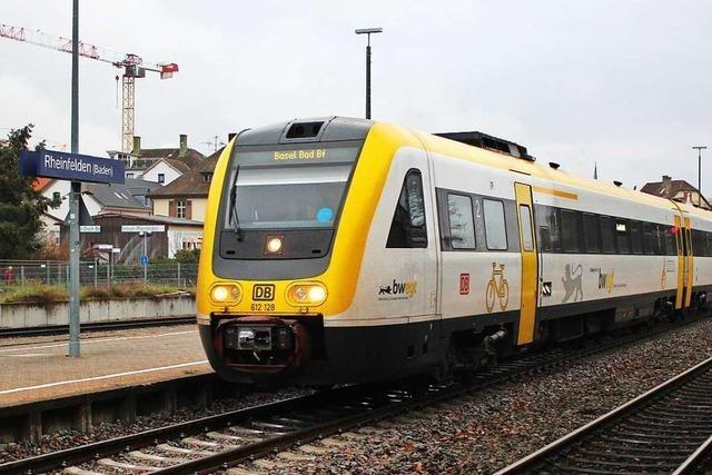 Mehr Züge sollen auf die elektrifizierte Hochrheinstrecke
