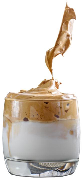 Dalgona anstatt Kaffee.  | Foto: RUSLAN_GALIULLIN (stock.adobe.com)