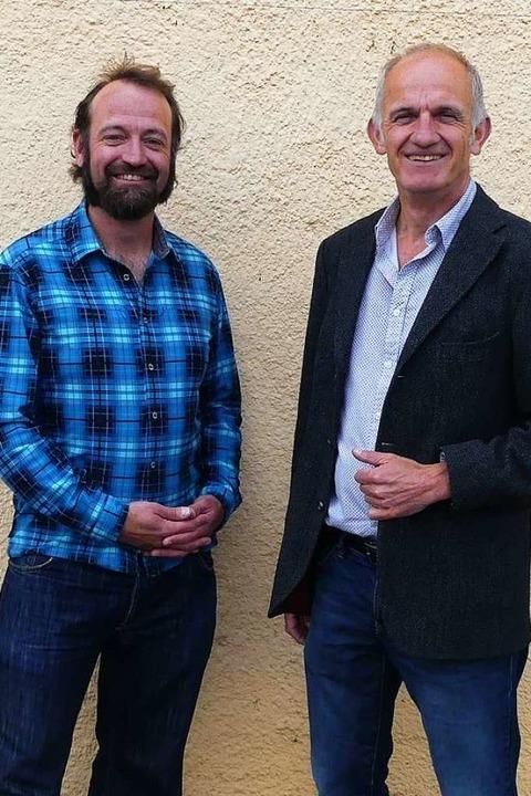 Die Mediatoren Sebastian Vogl (links) und Peter Weisser.  | Foto: Privat
