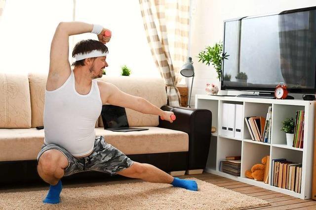 Wie man sich zuhause mit technischer Hilfe fit halten kann