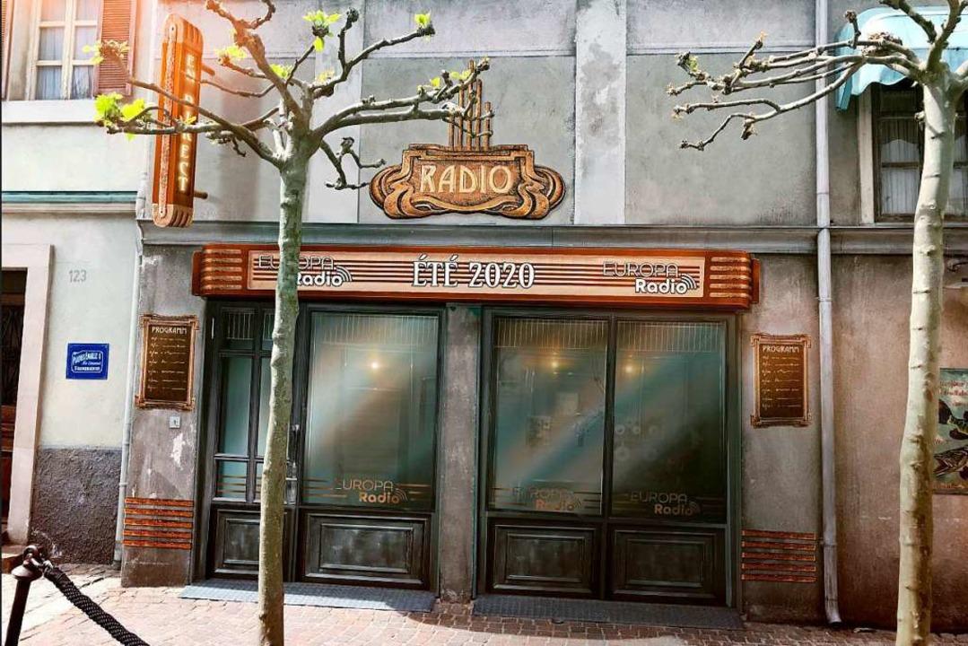 Das Studio im französischen Themenbereich von außen.  | Foto: Europa-Park