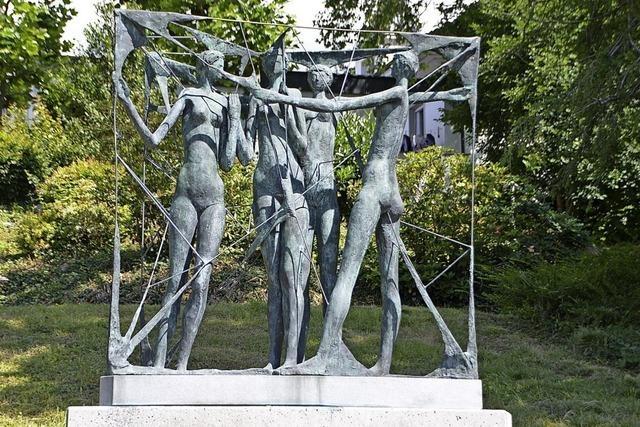 Eder schenkt Stadt neue Skulptur
