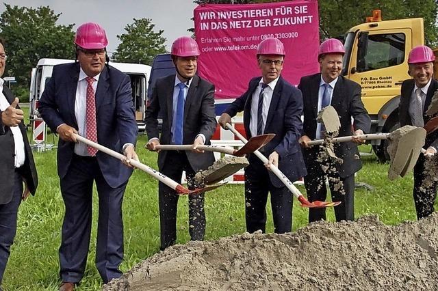 Bund fördert Breitbandausbau mit 10,4 Millionen Euro