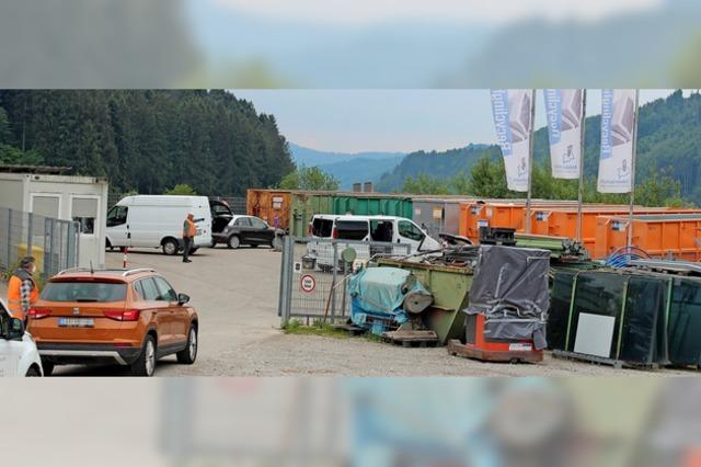 Traumziel Recyclinghof