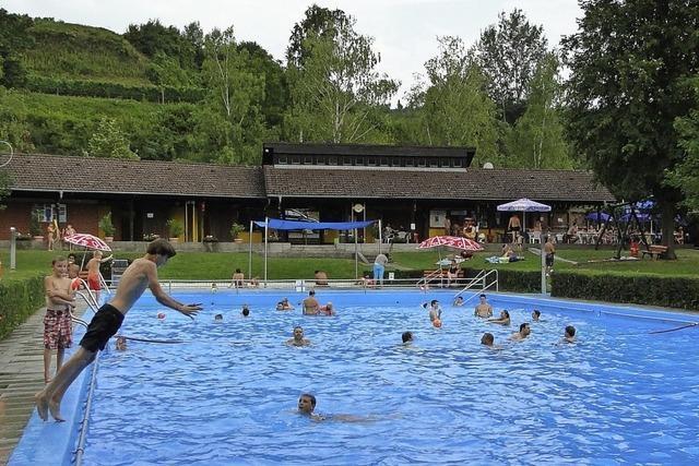 Ab Anfang Juli soll in Vogtsburg die verspätete Badesaison starten