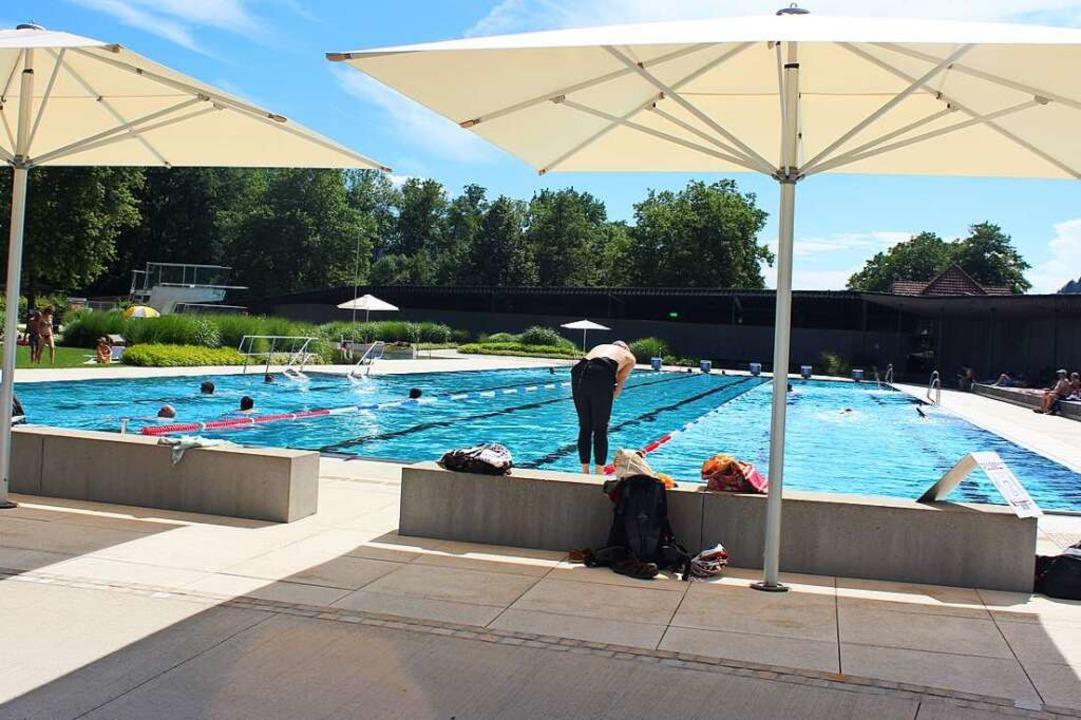 Das Waldkircher Schwimmbad hat wieder geöffnet.  | Foto: Bernd Fackler
