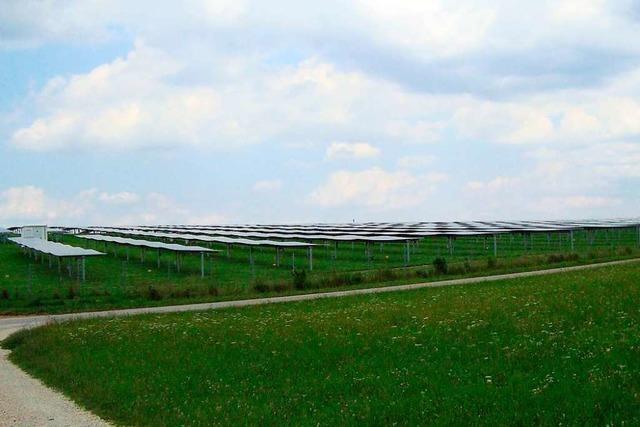 Ein privater Gönner möchte Gersbach einen Solarpark schenken