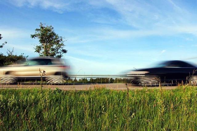 Ein 17 Kilometer langer Abschnitt der A 81 ist Hotspot für Autorennen