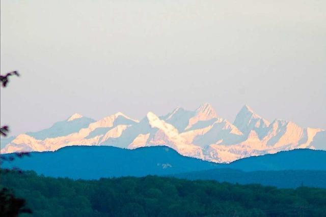 Anwohner in Hägelberg haben Alpenblick – aber kein Recht darauf